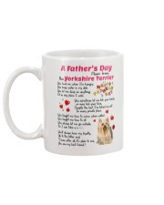 Poem From Yorkshire Terrier Mug back