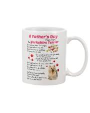 Poem From Yorkshire Terrier Mug front