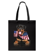 Flag Rottweiler Tote Bag thumbnail