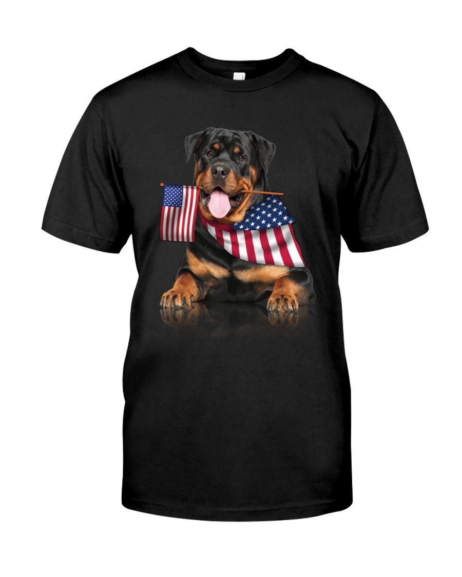 Flag Rottweiler Classic T-Shirt