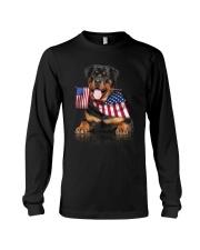 Flag Rottweiler Long Sleeve Tee thumbnail