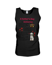 Poem From Dalmatian Unisex Tank thumbnail