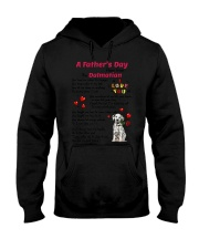 Poem From Dalmatian Hooded Sweatshirt thumbnail