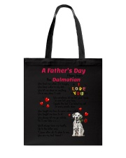 Poem From Dalmatian Tote Bag thumbnail