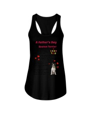Poem From Boston Terrier Ladies Flowy Tank thumbnail