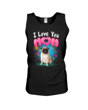 Pug  I Love Mom Unisex Tank thumbnail