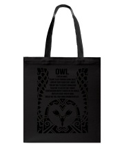Owl Eyes Of Night Tote Bag thumbnail