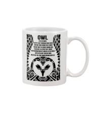 Owl Eyes Of Night Mug front