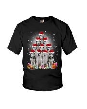 PHOEBE - Siberian husky in party hat - 0911 - E17 Youth T-Shirt thumbnail