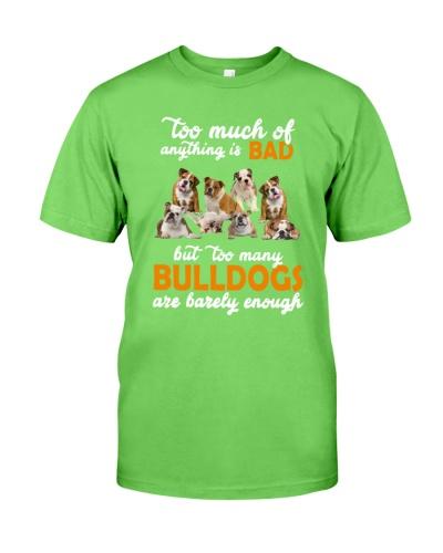 Bulldog Barely Enough