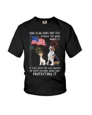 Flag Beagle Youth T-Shirt thumbnail