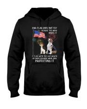 Flag Beagle Hooded Sweatshirt thumbnail