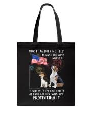 Flag Beagle Tote Bag thumbnail