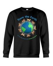 Golden Retriever Planet Crewneck Sweatshirt thumbnail