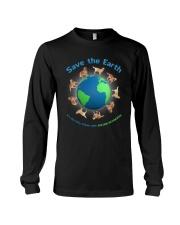 Golden Retriever Planet Long Sleeve Tee thumbnail