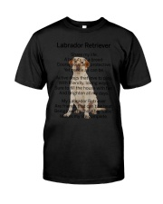 Labrador Retriever Makes My Life Classic T-Shirt thumbnail