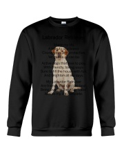 Labrador Retriever Makes My Life Crewneck Sweatshirt thumbnail