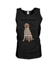 Labrador Retriever Makes My Life Unisex Tank thumbnail
