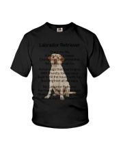 Labrador Retriever Makes My Life Youth T-Shirt thumbnail