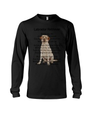 Labrador Retriever Makes My Life Long Sleeve Tee thumbnail