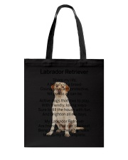 Labrador Retriever Makes My Life Tote Bag thumbnail