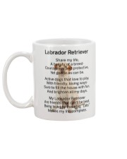 Labrador Retriever Makes My Life Mug back