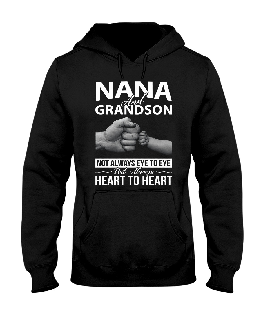 PHOEBE Nana and grandson - 1611 - A3 Hooded Sweatshirt