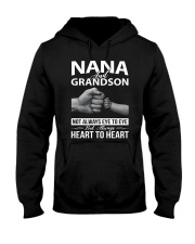 PHOEBE Nana and grandson - 1611 - A3 Hooded Sweatshirt front