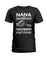PHOEBE Nana and grandson - 1611 - A3 Ladies T-Shirt thumbnail
