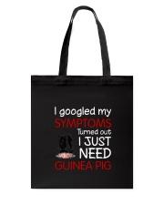 Guinea Pig Symptoms Tote Bag thumbnail