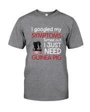 Guinea Pig Symptoms Classic T-Shirt front