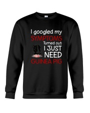 Guinea Pig Symptoms Crewneck Sweatshirt thumbnail