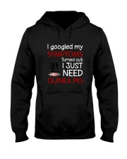 Guinea Pig Symptoms Hooded Sweatshirt thumbnail