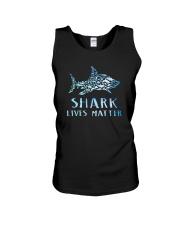 Shark Lives Matter Unisex Tank thumbnail