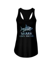 Shark Lives Matter Ladies Flowy Tank thumbnail