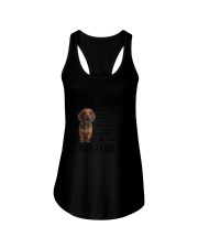 Daddy Dachshund Ladies Flowy Tank thumbnail