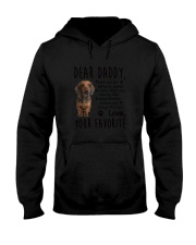 Daddy Dachshund Hooded Sweatshirt thumbnail
