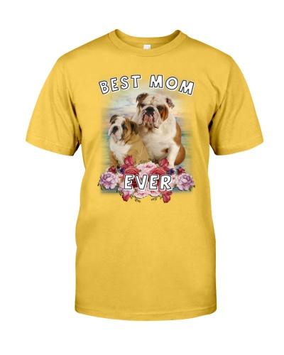 Bulldog Best Mom