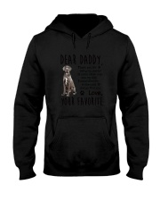 Daddy Great Dane Hooded Sweatshirt thumbnail