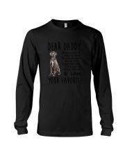 Daddy Great Dane Long Sleeve Tee thumbnail