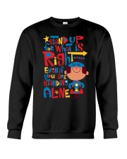 Autism Stand Up Crewneck Sweatshirt tile
