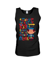 Autism Stand Up Unisex Tank tile