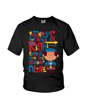 Autism Stand Up Youth T-Shirt thumbnail