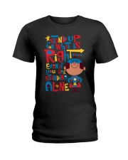 Autism Stand Up Ladies T-Shirt tile