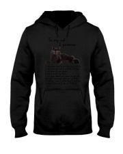 Black Cat Family Hooded Sweatshirt thumbnail