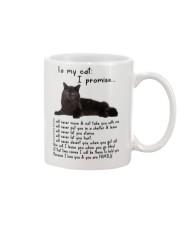 Black Cat Family Mug front