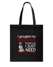 Jack Russell Terrier Symptoms Tote Bag thumbnail
