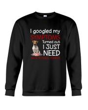 Jack Russell Terrier Symptoms Crewneck Sweatshirt thumbnail