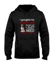 Jack Russell Terrier Symptoms Hooded Sweatshirt thumbnail