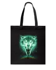 Wolf Power Tote Bag thumbnail
